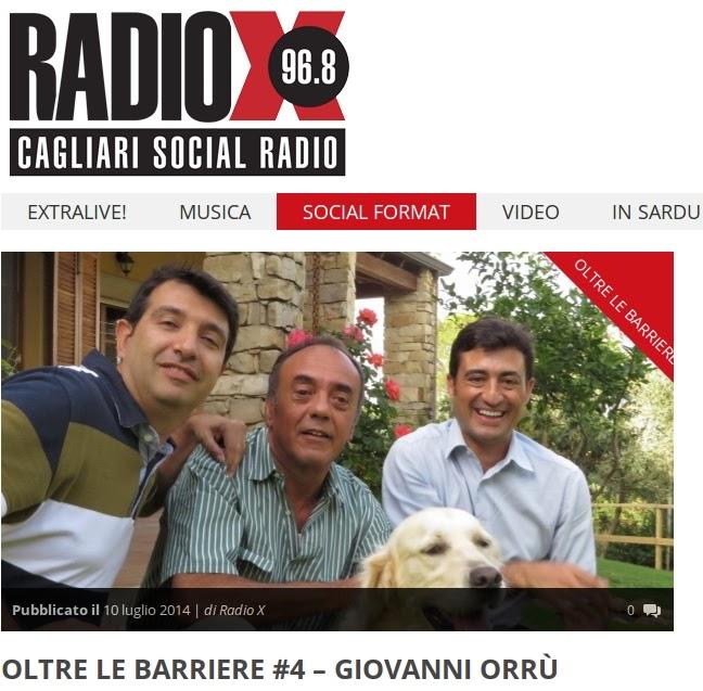 4) Andrea Ferrero e Andrea Mameli intervistano Giovanni Orrù