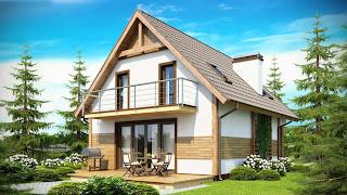 Дървената къща - удобна, красива и екологична