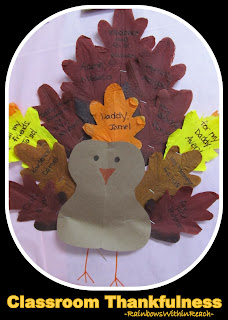 photo of: Turkey for Thankful Thanksgiving (feathers denote what I'm thankful for) via RainbowsWithinReach