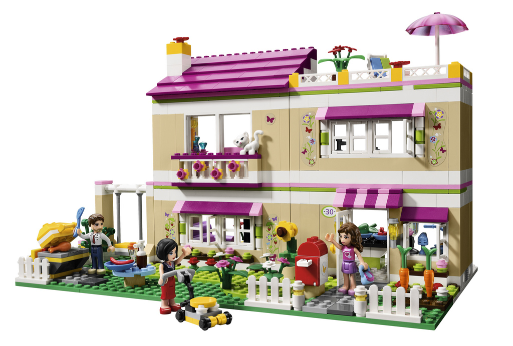 Feminists Freak Out Over Lego Friends Lego Friends Olivias House