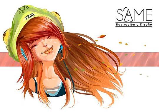Ilustración de Jhoan Sebastian Cristancho Niño aka Same