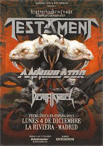 Testament Madrid 4 de Diciembre