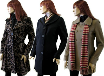 casaco de inverno feminino longo