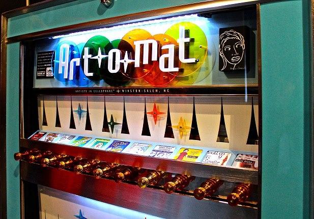 Image result for art o mat vending machine