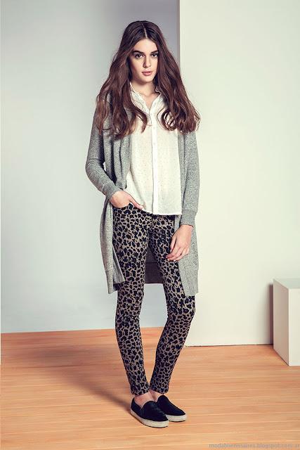 Moda invierno 2015 ropa de mujer Julien.