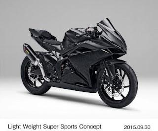 CBR250RR Concept Tokyo Motor Show 2015