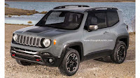 Jeep Renegade A Cute but Huge Off Road Car