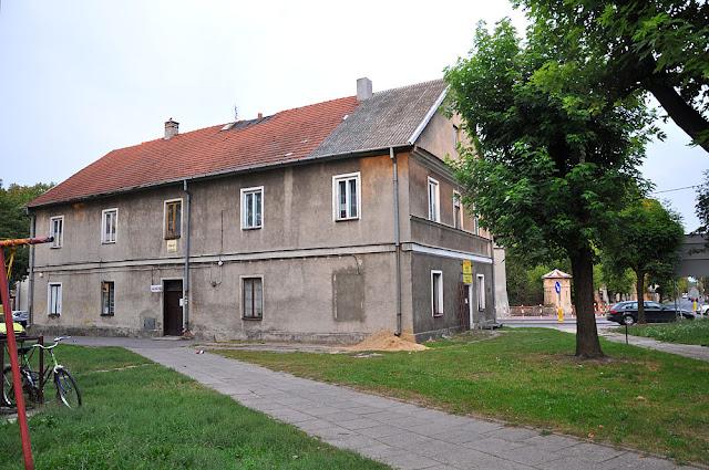 Końskie, dom przy ul. Zamkowej 20. Widok kamienicy od strony zachodniej. Fot. KW.