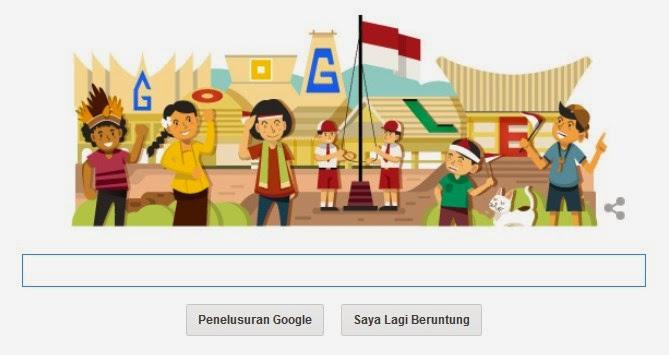 Google Rayakan Hari Kemerdekaan Indonesia Yang Ke-69