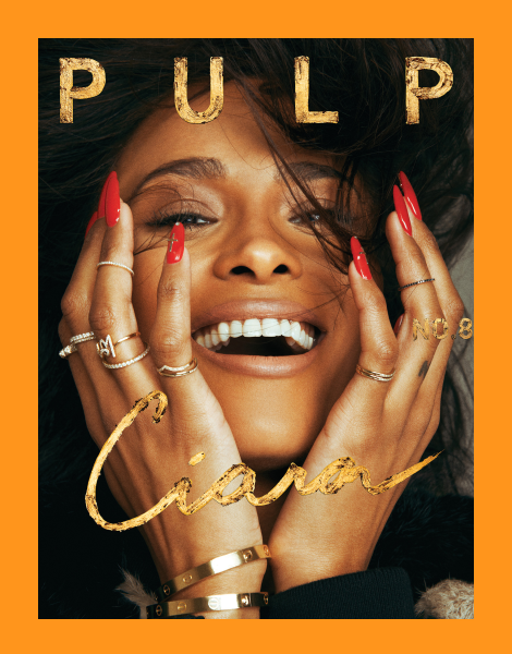 Ciara covers Pulp Magazine No.8