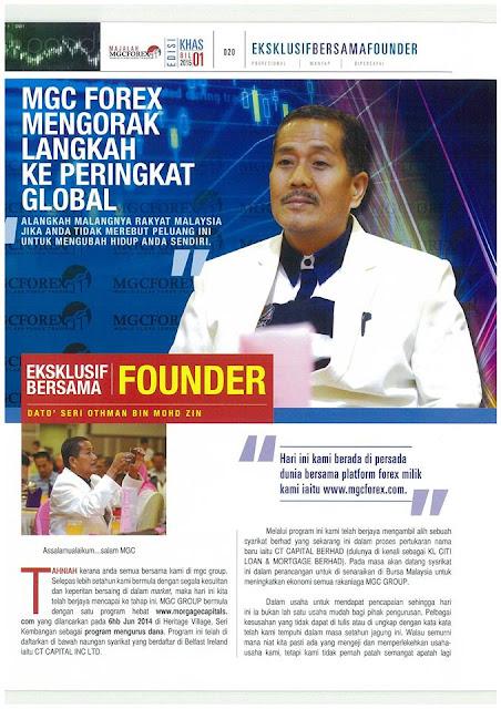 Mgcforex founder