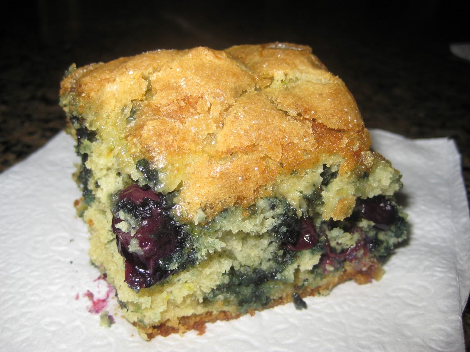 Britt's Apron: Buttermilk-Blueberry Breakfast Cake