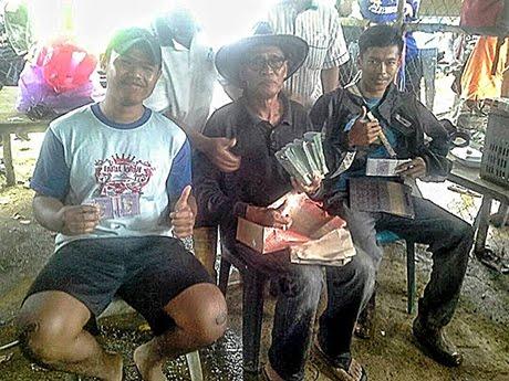 Awang Isa Mamat juara Memancing bersama Jejak Suci