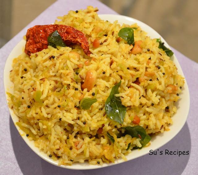 Raw mango rice, manga sadam, madikaaya pulihora, mavidikaaya chitrannam, mavidikaya annam, mavinakaayi chitranna, lunch box rice variety, Indian rice speciality