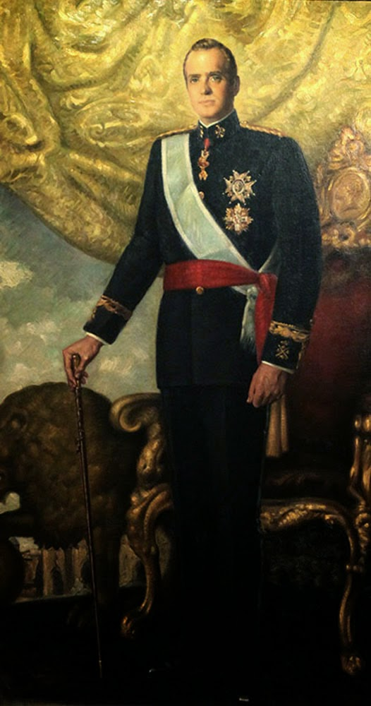 Juan Carlos I, Retratos de Juan carlos I, Rey de españa, Pinturas de Juan Carlos I, Retratos oficiales, Retrato oficial, Pintura española, Pintores españoles