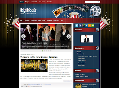 My Movie Blog Template