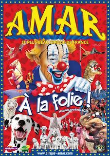 Cirque Amar 2013 béarn et pays basque