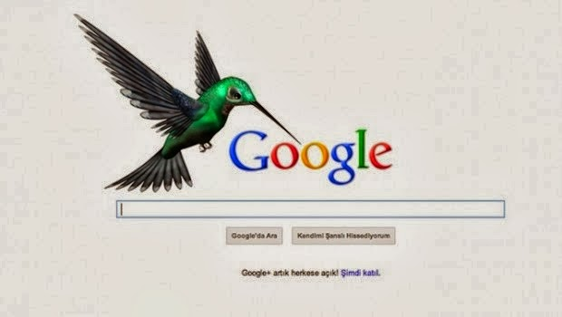 What is the latest algorithm of google Hummingbird