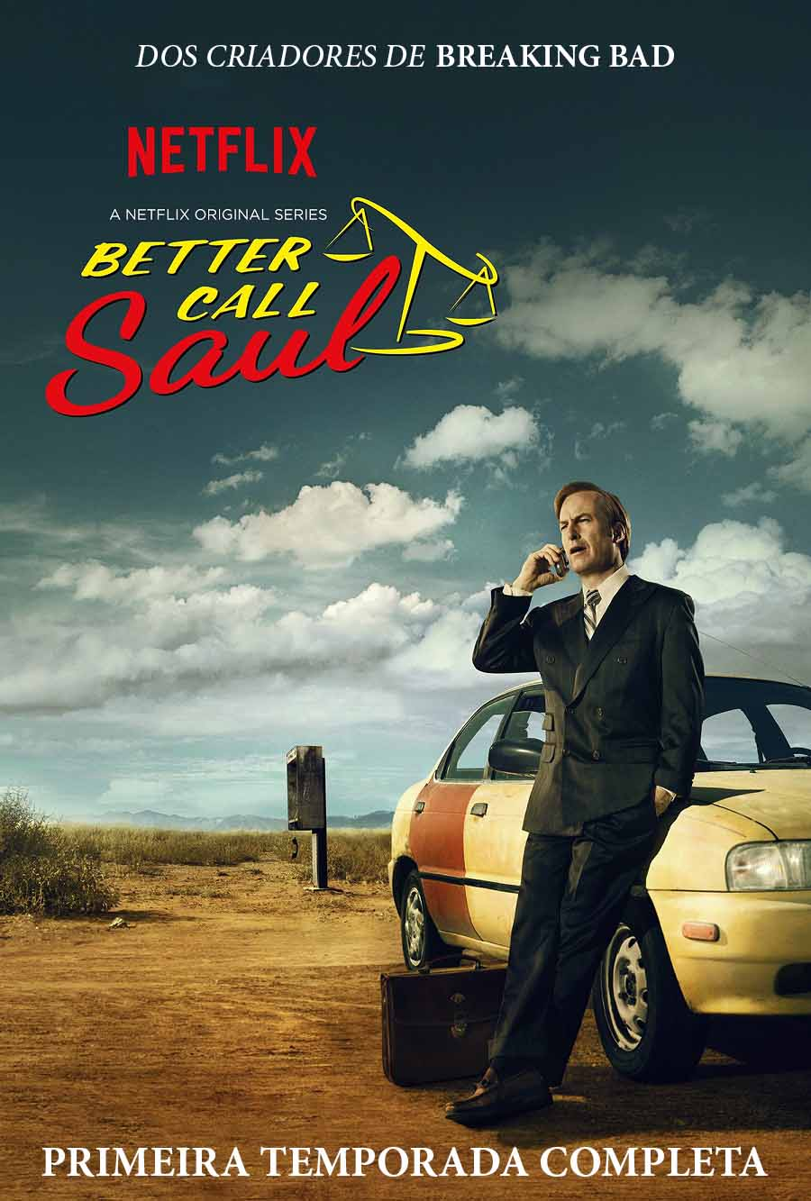 Better Call Saul 1ª Temporada Torrent - BluRay 720p Dual Áudio