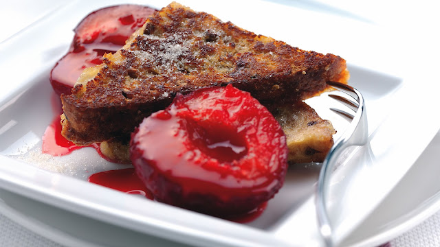 Strawberry Bread Dessert Food
