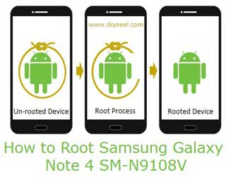 How to Root Samsung Galaxy Note 4 SM-N9108V