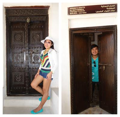 Door at Ajman Museum