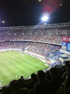 Vicente Calderón, Atlético de Madrid, Calderón, Manzanares,