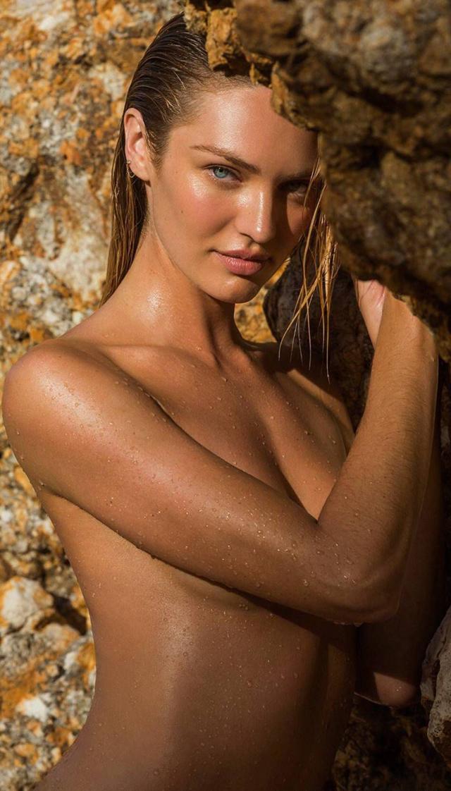Candice Swanepoel otra vez desnuda en Maxim Magazine
