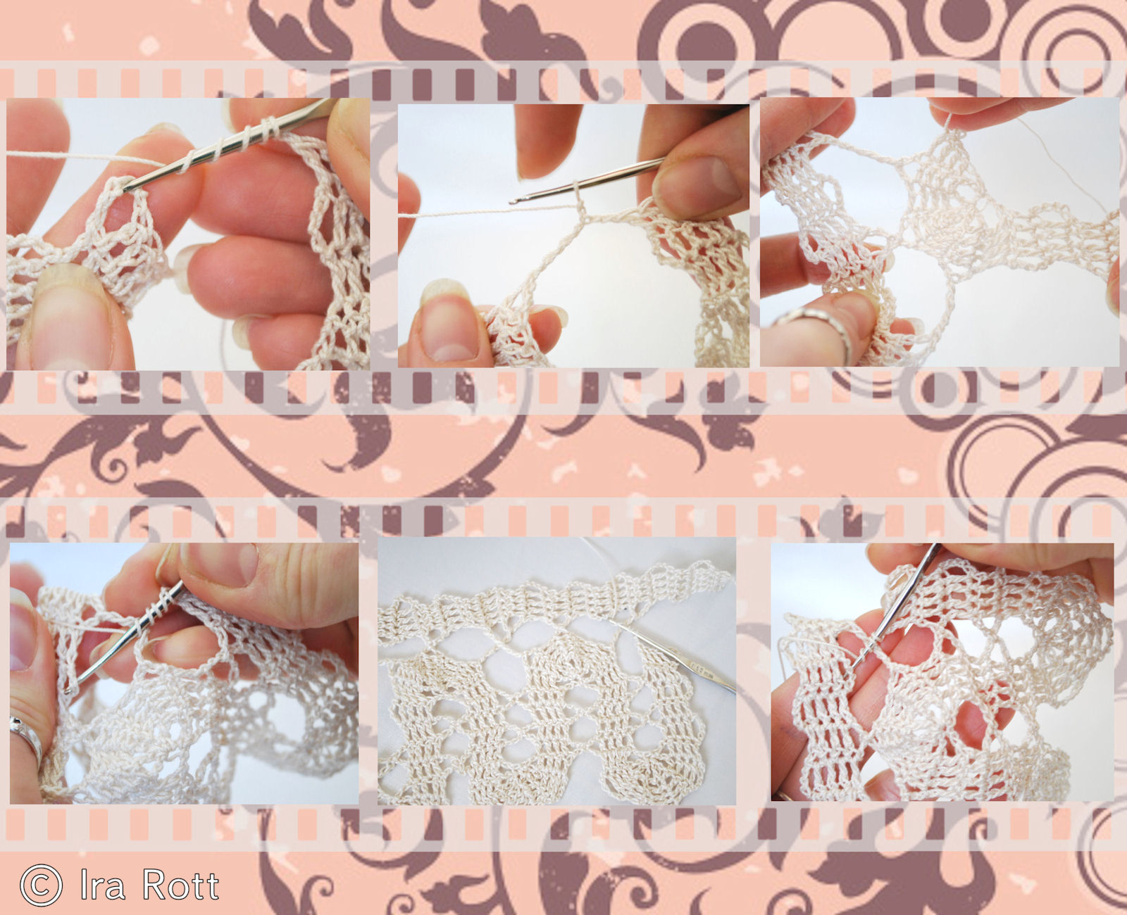 Bruges Crochet http://irarott.blogspot.com/2011/03/bruges-lace-crochet-old-technique-and.html