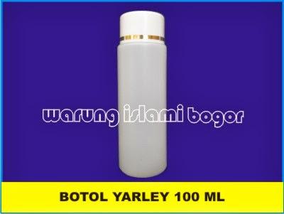 Botol HDPE Yarle 100 ml untuk Lotion, Kosmetik, Cream, minyak Urut