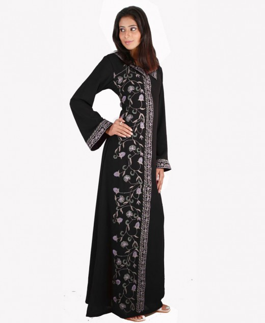 Fancy And Embroidered Abaya Designs 2016-2017 | NSA .blog