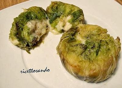 Sformatino vegetariano di verza ricetta verdure