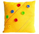 Fun Yellow Pillow