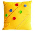 Fun Yellow Pillow