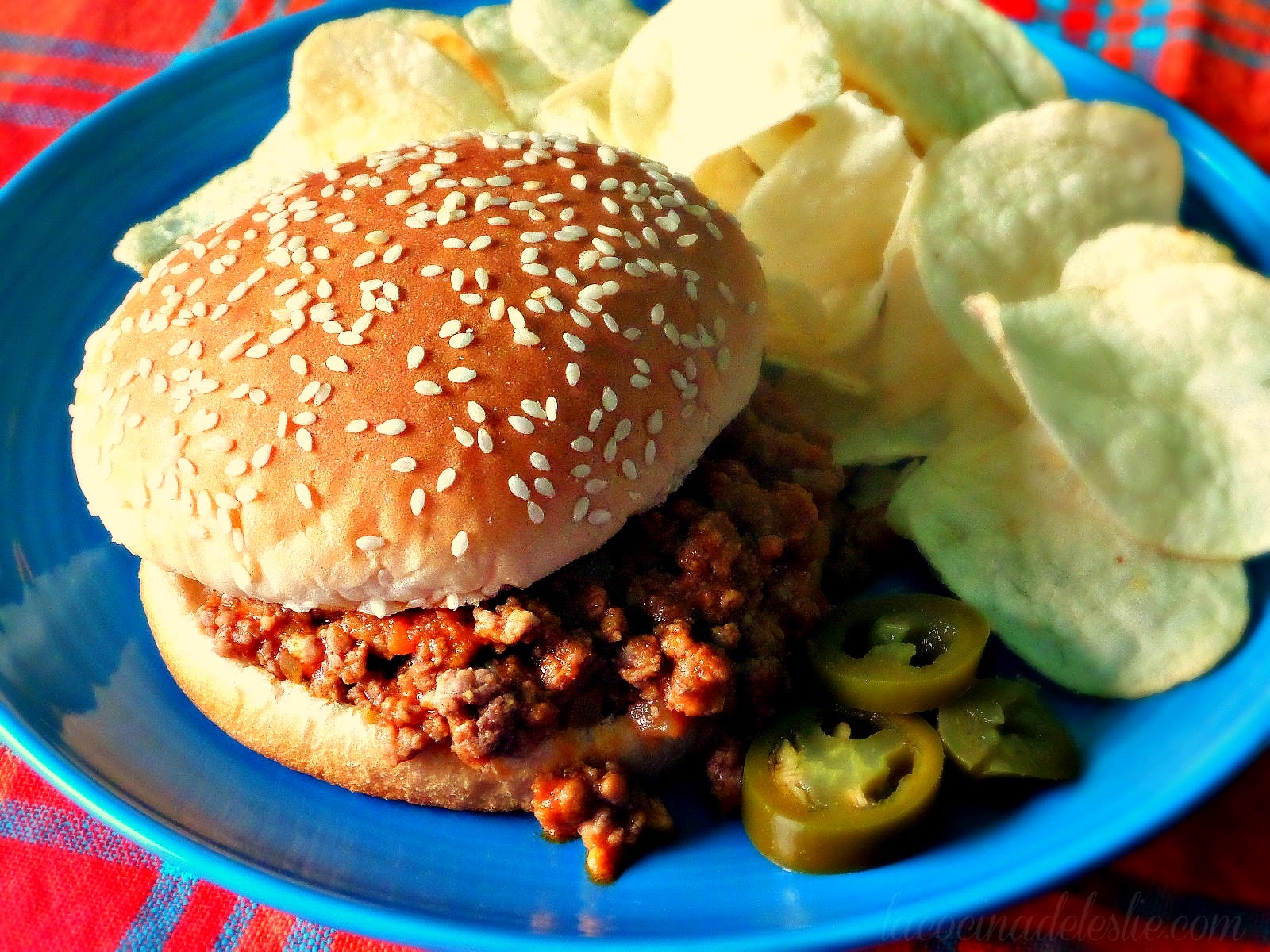 Mexican Sloppy Jose's - lacocinadeleslie.com