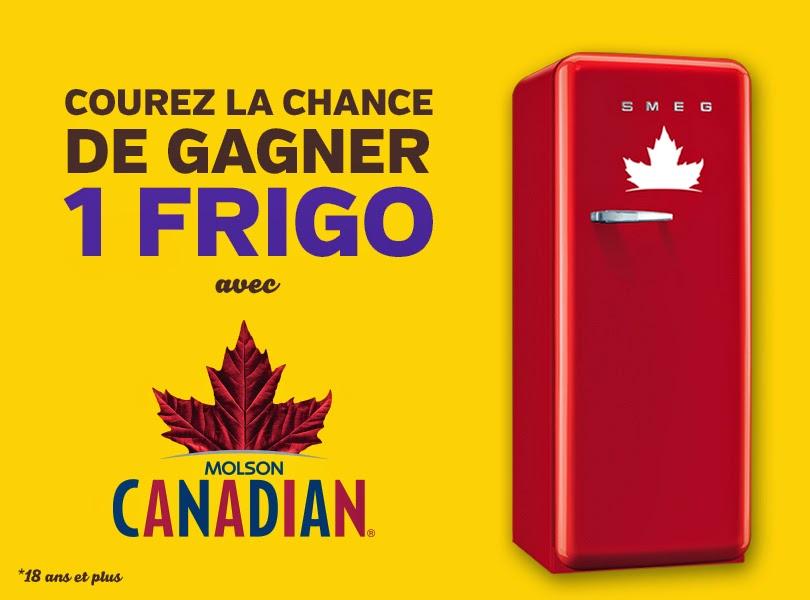 Gagnez un frigo molson avec couche tard coupons au qu bec - Transporter un frigo couche ...