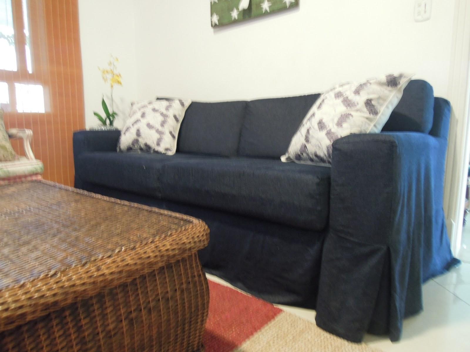 Meu Sofa Jeans Kika Junqueira