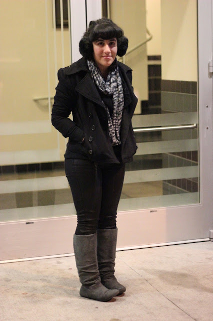 What to Wear with a Black Pea Coat