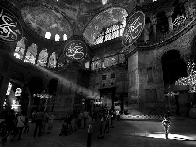 Hagia Sophia, Istanbul, turkey, interior, exterior, view, inside