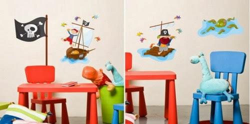 Sticker dan Wallpaper Dinding Lucu untuk Kamar Anak