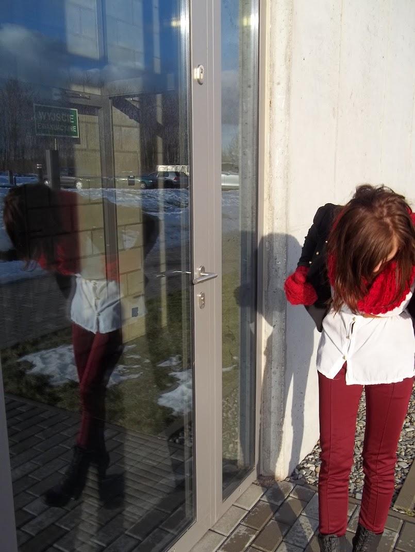 bordowe legginsy, Mafashima i mamy słonko ♥!