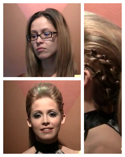 Enigmas Hair studio makeup makeovers before and after