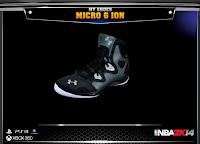 NBA 2K14 Under Armour Micro G Ion