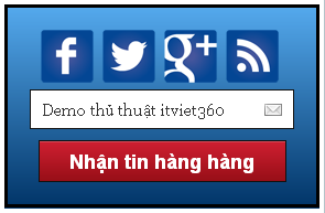 Rss Feed Subscription đẹp