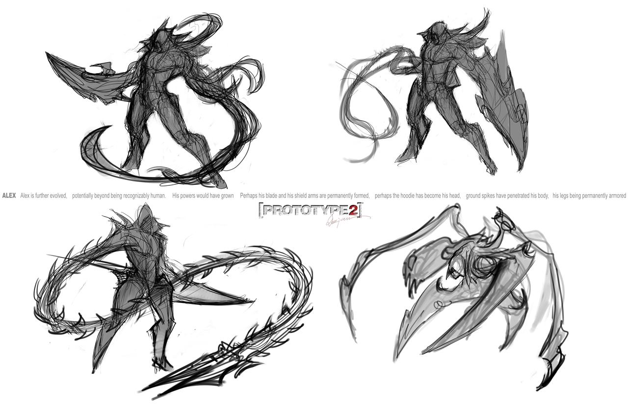 d concept art sketches