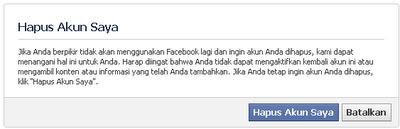 Cara Menutup Akun Facebook
