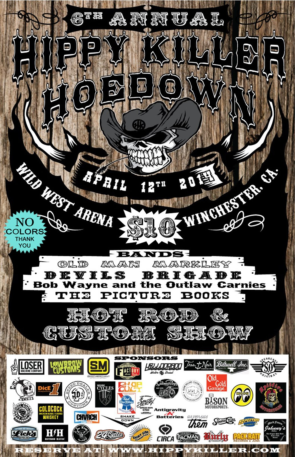 Hippy Killer Hoedown VIP Pass