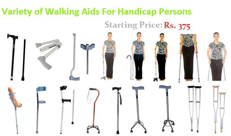 Types of walking Aids. Types of walking Aids   Wheelchair India   Handicap Products