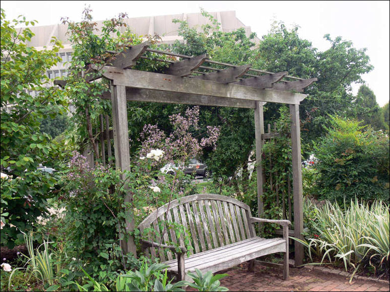 Arbor Bench Garden Decal Galleries