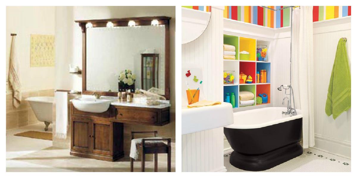 Arredare il bagno: Il giusto gusto per il bagno